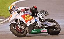 De Angelis con la Honda Gresini nel 2009
