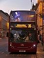 AlexanderDennis Enviro400H HE11 OXF Oxford StAldates night.jpg