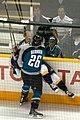 Alexander Radulov hit by Steve Bernier (318965656).jpg