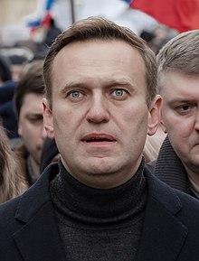 Alexey Navalny in 2020, From WikimediaPhotos