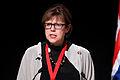 Alfheidur Ingadottir vid Nordiska Radets session i Reykjavik. 2010-11-04.jpg