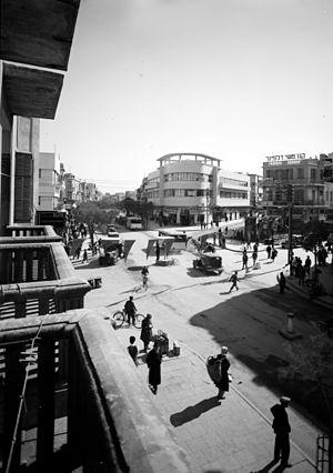 Magen David Square - Magen David Square in 1936