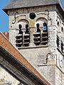 Allonne (60), église Notre-Dame de l'Annonciation, clocher, côté ouest.JPG