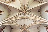 Althofen Pfarrkirche hl. Thomas von Canterbury Chor Kreuzrippengewölbe 24062015 5256.jpg