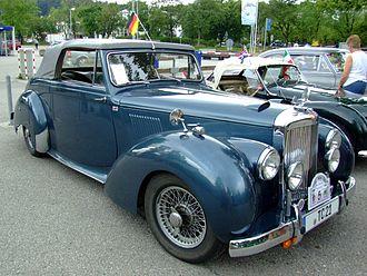 Alvis TC 21 - TC 21 100 Grey Lady drophead coupé