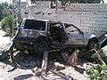 Amal ambulance targeted by Israeli UMV MK during 2006 aggression. hussein.hijazy@gmail.com - panoramio.jpg