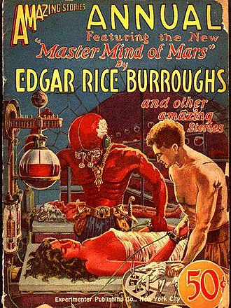 The Master Mind of Mars - Original 1927 magazine publication