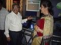 Ambika Soni Visiting Space Odyssey - Science City - Kolkata 2006-07-04 04812.JPG