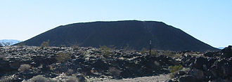 Amboy, California - Amboy Crater, as viewed from the east