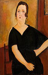 Madame Amedee (Woman with Cigarette)