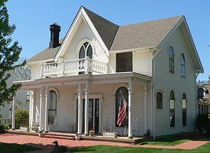 Amelia Earhart Birthplace - Image: Amelia Earhart birthplace from NE 1