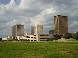 American General Center - Image: American General Complex 4Towers