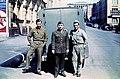 American Lieutenant Mark Muller with G.I.s in Charlotte Street, Brisbane, 1942 (5098196469).jpg