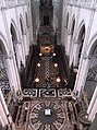 Amiens, Cathédrale (Nef + Chœur) vue du Triforium.jpg