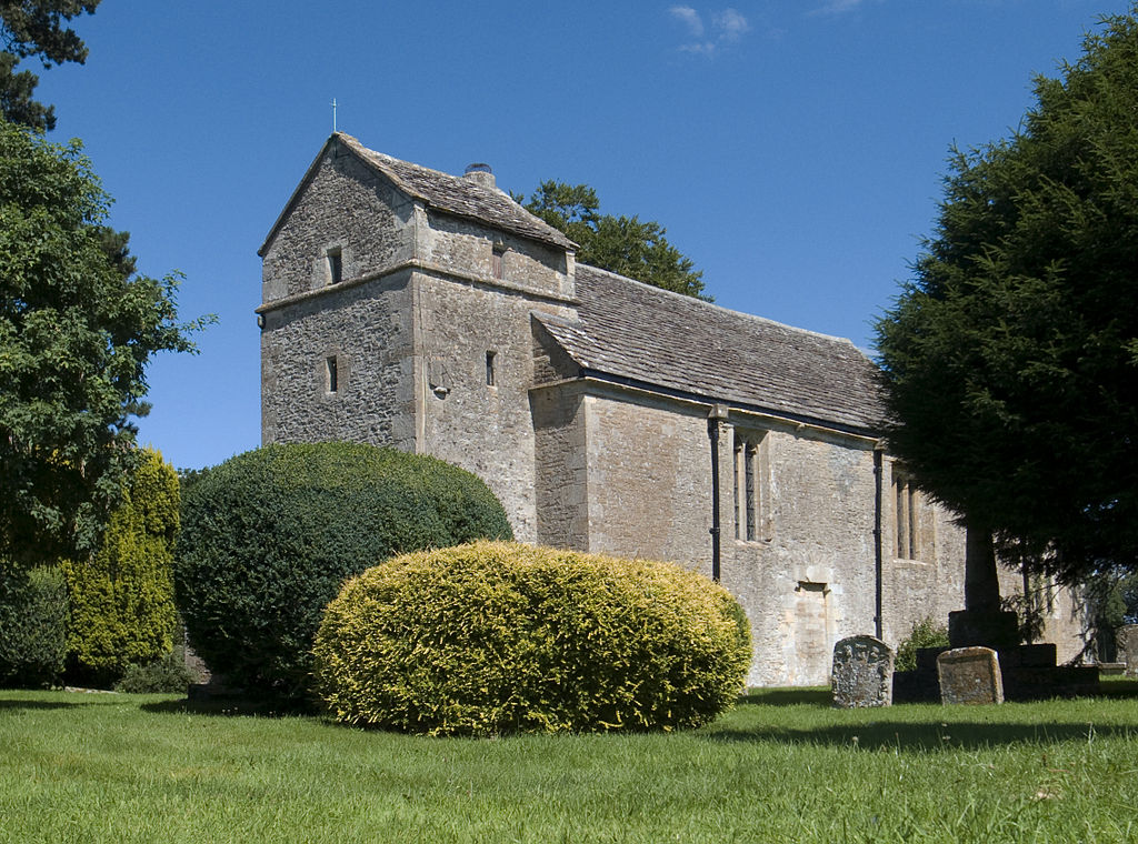 The church at Ampney St Peter, Gloucestershire