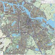 Amsterdam-topografie