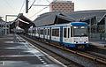 Amsterdam GVB Metrostel 94 naar Gein bij Bijlmer Arena. (11193269313).jpg