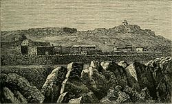 An 1886 drawing of al-Shaykh Saad village.jpg