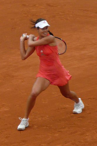 Ana Ivanovic - Ivanovic at the 2008 French Open