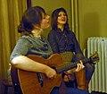 Anais Mitchell and Rachel Ries Little Apple House Concert Minneapolis MN November 2008.jpg