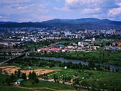Wide View of Anantnag City