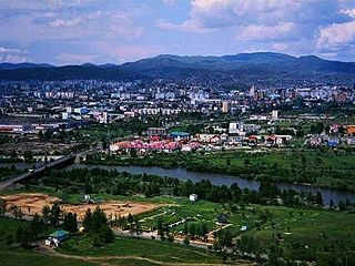 Anantnag City in Jammu and Kashmir, India