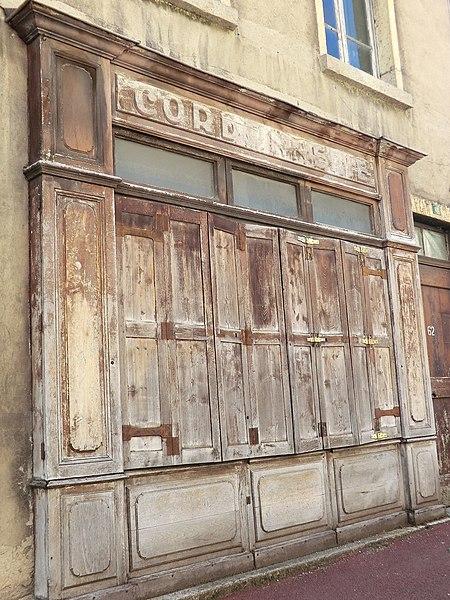 Ancienne cordonnerie à Argis.