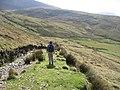 Ancient track on Mynydd Tal-y-Mignedd - geograph.org.uk - 1502452.jpg