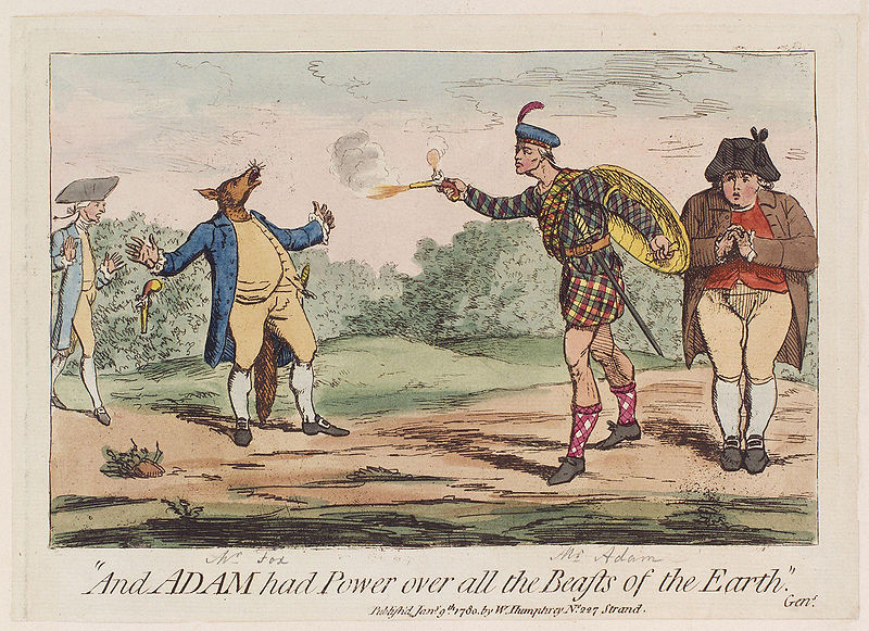 File:And Adam had power over all the beasts of the earth by James Gillray.jpg