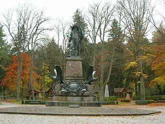 Battles of Bergisel - Statue of Andreas Hofer near Bergisel in Innsbruck