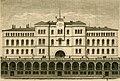 Andreas Ludvig Søborg - Det nye Kristiania; Raadhuset og Bazaren ved Youngstorvet. - Skilling-Magazin 1881 - Oslo Museum - OB.02950 (cropped).jpg