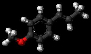 Anethole - Image: Anethole 3D balls