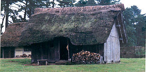 Anglo Saxon House at West Stow