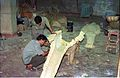 Ankylosaurus in Progress - Dinosaurs Alive Exhibition - NCSM - Calcutta 1995 458.JPG