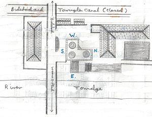 Annery kiln - Image: Annery Kiln layout