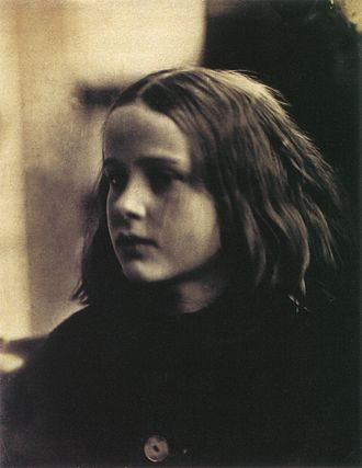 "Julia Margaret Cameron - ""Annie, my first success"", 29 January 1864. Cameron's first print with which she was satisfied"