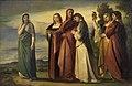 Anselm Feuerbach - Dante und die edlen Frauen von Ravenna - 551 - Staatliche Kunsthalle Karlsruhe.jpg