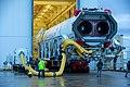 Antares Rocket Rolls Out at NASA Wallops (50386263888).jpg