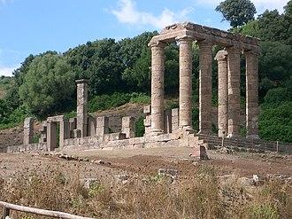 Sardinia and Corsica - Antas Temple