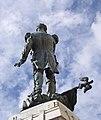 Antequera – Capitán Moreno, stepping over a napoléonic standard.jpg