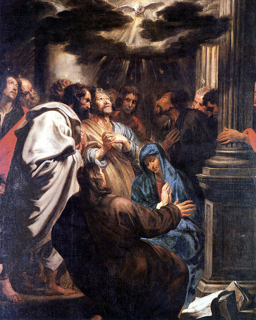 Anthony van Dyck. The Descent of the Holy Spirit.