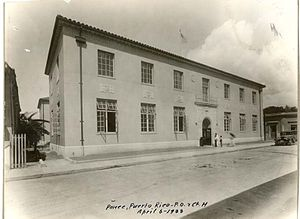 Luis A. Ferré United States Courthouse and Post Office Building - Ponce, Puerto Rico, U.S. Post Office and Court House when built in 1933