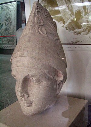 Arsameia - Head of Antiochos from the plateau now in the museum at Gaziantep