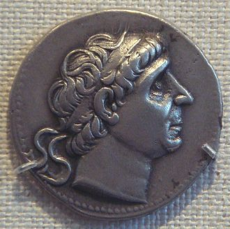 Antiochus II Theos - Coin of Antiochus II.