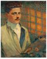 Antoine de La Rochefoucauld by Schuffenecker 1886.png