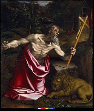 Antonio Campi - Image: Antonio Campi, Saint Jerolamus