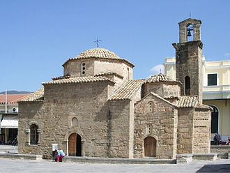 Kalamata - The Byzantine-era Church of the Holy Apostles.