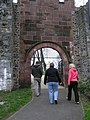Approaching Castle Garden - geograph.org.uk - 1227046.jpg