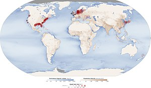 Dead zone (ecology) - Image: Aquatic Dead Zones