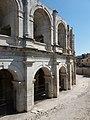 Arènes d'Arles - Arches vues de l'extérieur (2).jpg